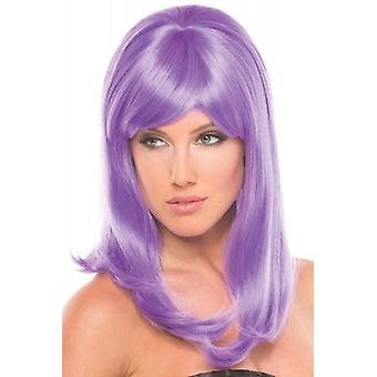 Hollywood Wig - Light Purple