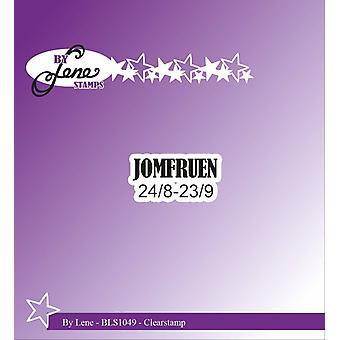 Av Lene Clearstamp Jomfruen (BLS1049)