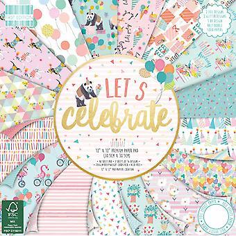 Primera edición Let's celebrar 12x12 pulgadas de papel Pad
