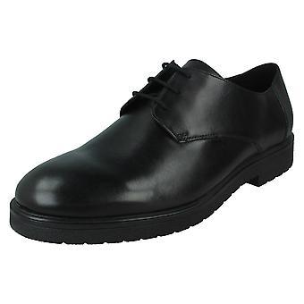 Mens Clarks Formal Lace Up Schuhe Ashcroft Plain