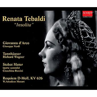 Tebaldi - Insolita (Rarities) [CD] USA import