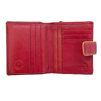 Primehide Small Womens Leather Purse Portefeuille RFID Blocage Porte-carte 6711