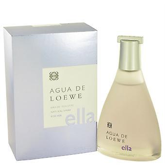 Agua De Loewe Ella Eau De Toilette Spray Par Loewe 100Ml
