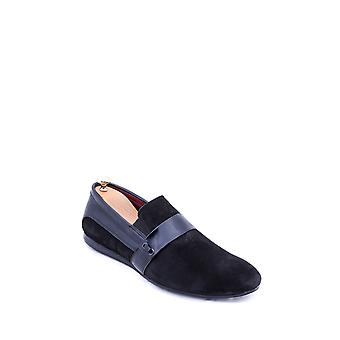 Black suede casual shoes | wessi
