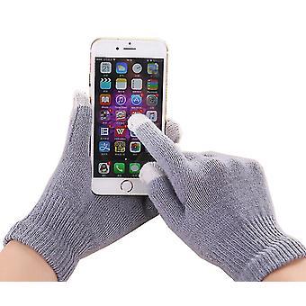 Unisex One Size Winter Touchscreen Phone Gloves (grigio) per Apple Samsung Nokia Huawei Google LG Sony Motorola