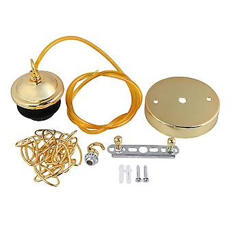 E27 Lamp Pendant Light Cord Electrophoresis Gold