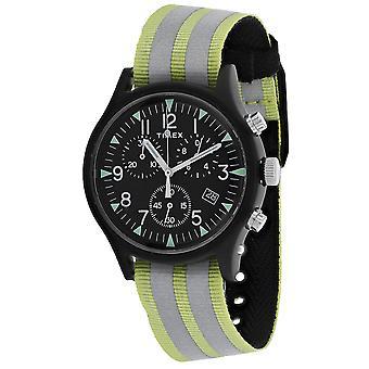 Timex Men's Aluminium Black Dial Watch - TW2R81400