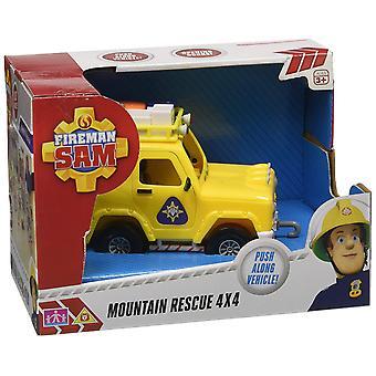 Fireman Sam 4 x 4 Jeep Mountain Rescue Car