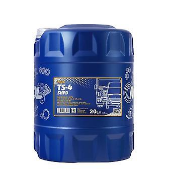 Mannol 20L TS-4 SHPD 15W40 Huile moteur Acea E7/A3/B4 Volvo VDS 3 RLD-2 MAN M3275
