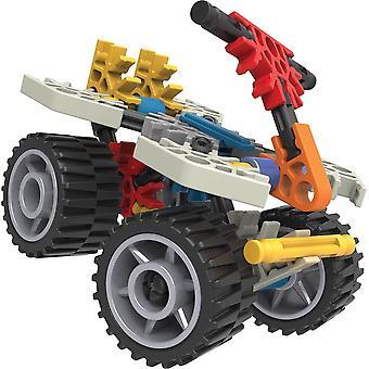 K'Nex Beginner Fun Fast Vehicles 10 Model 96 pieces Building Set (Model. 45510)
