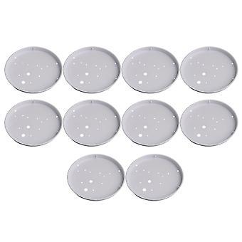 10 x Ceiling Light Plates Lighting Accessory 19cm ID