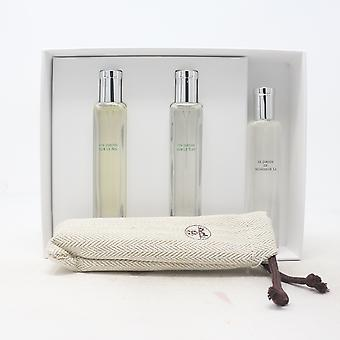 Hermes Garden Perfume Collection 3-Pcs Travel Set  / New With Box