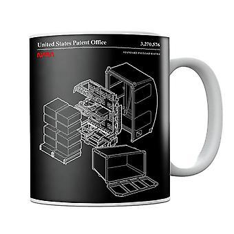 NASA Standard Payload Racks Blueprint Mug