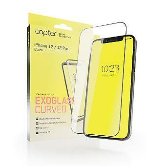 Copter Exoglass Curved Frame iPhone 12/12 Pro - Cola Completa