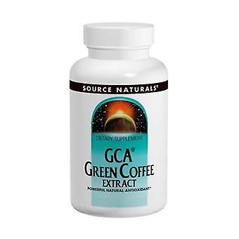 Source Naturals GCA Green Coffee Extract, 30 Tabs