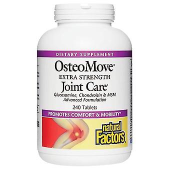 Luonnolliset tekijät OsteoMove Extra Strength Joint Care, 240 Tabs