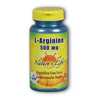 Nature's Life L-Arginine, 500 mg, 100 caps