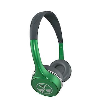 iFrogz Audio - Ear Pollution Toxix Plus Headphones with Mic- Green