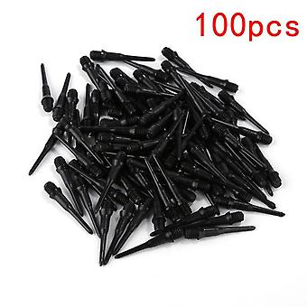 100 Pcs Sharp Durable Archery Arrowheads- Soft Tip Points Needle Replacement