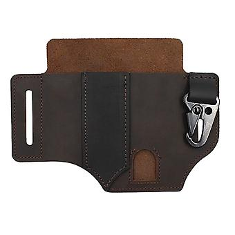 Suitable For Iphone Mobile Bag, Leather Case, Outdoor Tool, Belt Phone Wallet,