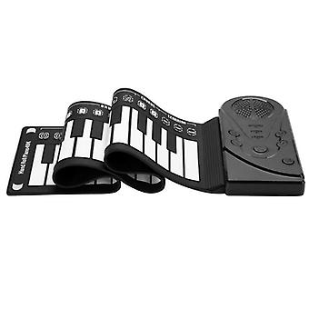 Digital Roll-up, Electronic Keyboard With Built-in Speaker