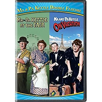 Ma & Pa Kettle Double Feature [DVD] USA import