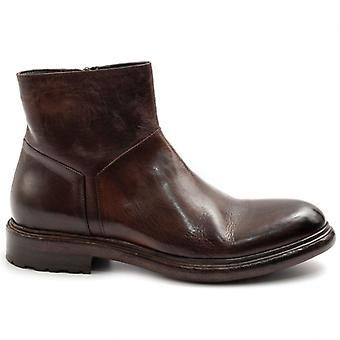 Barrow Glezna Boots's handmade în piele maro