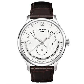 Tissot T063.637.16.037.00 Tradition Evig Kalender Mænd's Watch