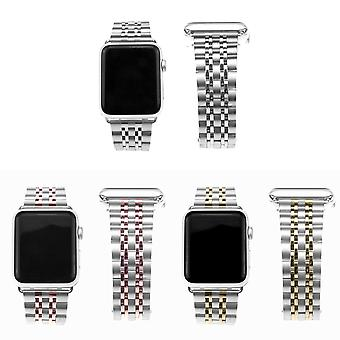 Strapsco stainless steel strap for apple watch