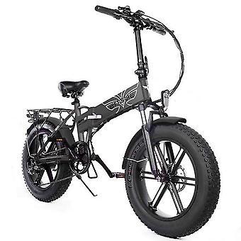 אופניים חשמליים- אלומיניום 500w אופניים חשמליים חזקים, הר שלג Ebike