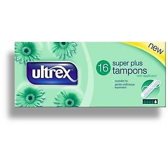 Ultrex Tampons Super + 16's x6