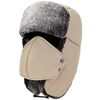 Balaclava Earflap Bomber Earflap Snow Ski Hat Cap With Scarf For  Men/women