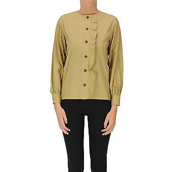 Soeur Ezgl563010 Women's Green Cotton Shirt