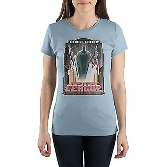Justice league shirt heroes united dc comics clothing