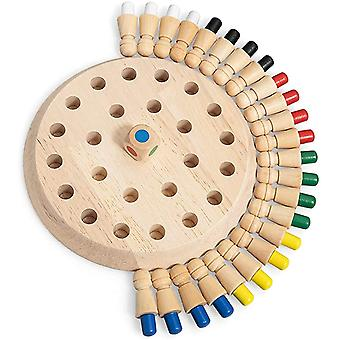Wooden Memory Match Stick Chess Game,parent And Child Interaction Toy
