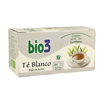 Bio 3 الشاي الأبيض إيكو 25 أكياس التسريب