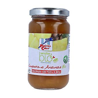 Simple & organic pineapple compote 220 g