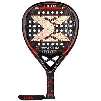 Nox, Padelracket - Luxury Titanium 3K 2021