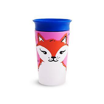 Munchkin mirakel 360 sippy kopp vill kjærlighet fox 266ml