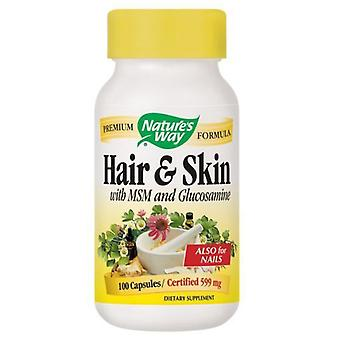 Nature's Way Hair & Skin with MSM and Glucosamine