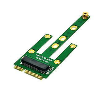 Msata To M.2 Ngff Adapters Convert Card 6.0gb/s Ngff M.2 Sata-bus Ssd B Key To