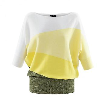 MARBLE Marble Yellow Sweater 6113