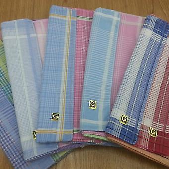 Kodin tekstiili nenäliina Polyesteri Puuvilla (satunnainen väri)