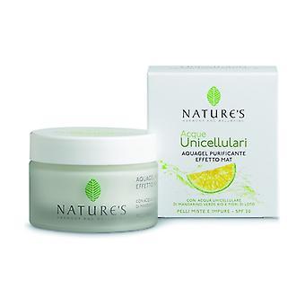 Aquagel Purifying Matte Effect SPF20 50 ml of cream