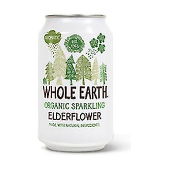 Organic Sugar Free Elderberry Soda 330 ml