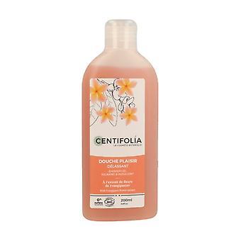 Relaxing pleasure shower gel 200 ml of gel