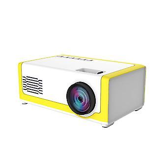 Przenośny 1800 Lumens Mini Projektor domowy 3,5 mm Audio dla Av Usb Sd Tf Card
