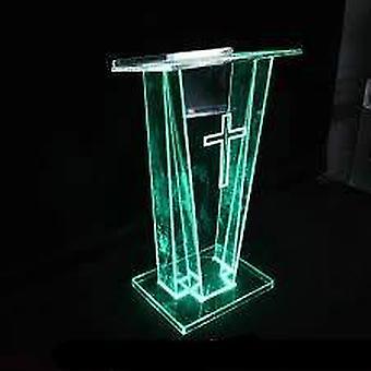 Moderne udseende og kommercielle møbler Generel brug Plexiglas Podium