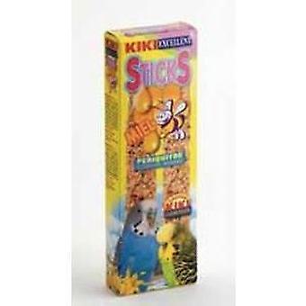 Kiki Perruche Honey Sticks Avec pack 2 pcs (Oiseaux , Snacks)