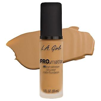 L.A. Girl Base de Liquid Pro Matte Light Foundation Tan
